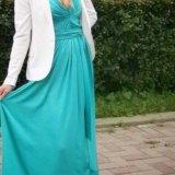Мятное платье макси. Фото 2. Ярославль.