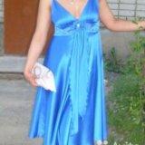 Шелковое платье, платье на выпускной. Фото 3.