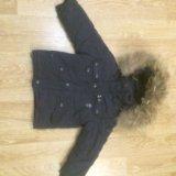 Куртка зима, пух. длинна рукава 33. по спинке 42. Фото 1. Комсомольск-на-Амуре.