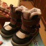 Детские зимние ботинки. Фото 1.