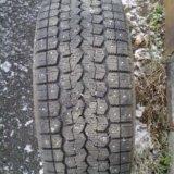 Зимние шины якохома б/у. Фото 1.