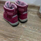 Viking зимние ботинки. Фото 1.