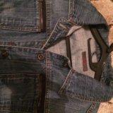 Джинсовый пиджак. Фото 2. Подольск.