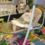 Детская качеля-люлька. Фото 1.