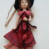 Фарфоровая кукла коллекционная. Фото 1.