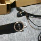 Bluetooth гарнитура qcy q8 с доп.наушником (блютус. Фото 1.