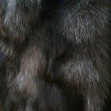 Меховая жилетка из чернобурки. Фото 3.
