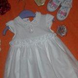 Платье шикарное и тапочки для девочки. Фото 3. Москва.