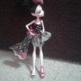 Кукла мх - монстер хай настоящая + одно платье. Фото 1. Омск.