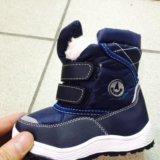 Зимние детские сапоги, ботинки. Фото 1.