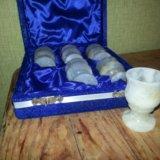 Рюмки из оникса. Фото 1.