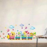 Интерьерные наклейки в детскую,паровоз,цена смех. Фото 1. Красноярск.