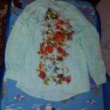 Кардиган,  туника и блуза. Фото 4.