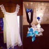 Свадебное платье. Фото 3. Пущино.