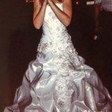 Красивое свадебное платье. Фото 2. Глазов.