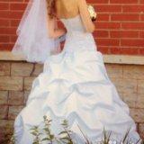 Красивое свадебное платье. Фото 3. Глазов.