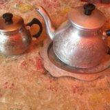 Чайник поднос и сахарница. Фото 1. Бердск.