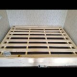Каркас двуспальной кровати 200/160/40 см. Фото 1. Москва.