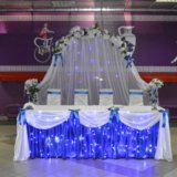 Украшение зала на свадьбу. Фото 2. Волгоград.