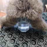Мужская зимняя шапка из чернобурки. Фото 3.