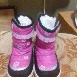 Ботиночки для девочек. Фото 1.
