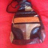 Кожаный рюкзак. Фото 1. Михайловск.