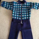 Вязанный костюм. Фото 1.