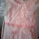 Платье для девочки 116-128. Фото 3.