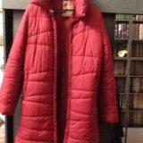 Пальто-пуховик. Фото 1.
