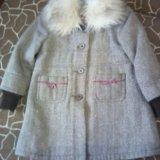 Пальто детское 104-116. Фото 1.