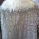 Пальто детское 104-116. Фото 2.