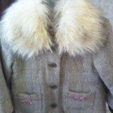 Пальто детское 104-116. Фото 3.