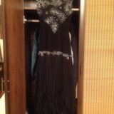 Вечернее платье эффектное с гипюровым лифом. Фото 3. Москва.