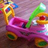 Машинка пластик. Фото 1.