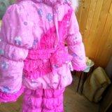 Зимний костюм для девочки 3-4 лет. Фото 1.