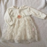 Платье нежное с кружевом. Фото 1.