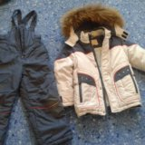 Куртка зимняя. размер 110. Фото 4.