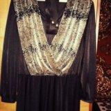 Платье нарядное для вечеринок к новому году. Фото 1.