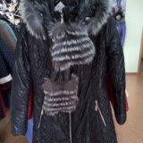 Пальто на тинсулейте зима (новое). Фото 1.