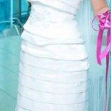 Свадебное платье + шубка. Фото 1. Пермь.