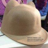 Модная шапка с ушками. Фото 1.