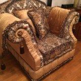 Диван и кресло барокко , прованс. Фото 1. Долгопрудный.