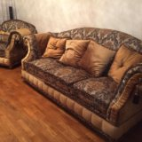 Диван и кресло барокко , прованс. Фото 2. Долгопрудный.