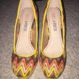 Туфли на высоком каблуке. Фото 2.