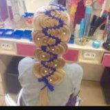 Обучение наращиванию волос, декор.плетениям волос. Фото 4. Норильск.