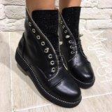 Осенние ботинки новые 37,5 размер. Фото 1.