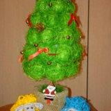 Топиарий новогодняя ёлочка. Фото 1.