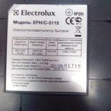 Электротепловентелятор бытовой. Фото 4.