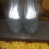 Туфли женские, замша, размер39. Фото 1. Усть-Кут.