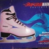 Коньки женские firemark hk-525a, 38 размера. Фото 3.